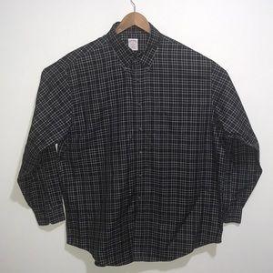 Brooks Brother Long Sleeve Plaid Shirt